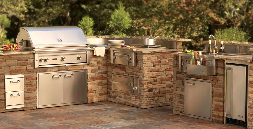 Outdoor Kitchens - Wonder Pool Company
